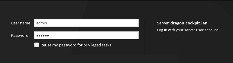 Reuse my password for privileged tasks